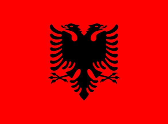 L'Albanie   Quel pays à le meilleur drapeau ?