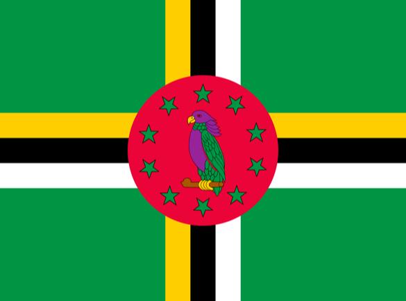 La Dominique   Quels pays ont les drapeaux les plus fous ?