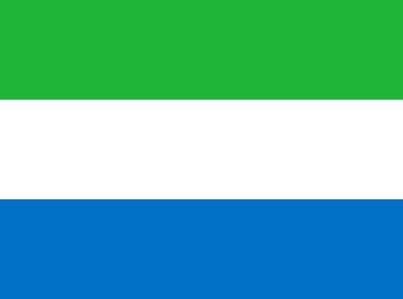 La Sierra Leone  Quel pays à le meilleur drapeau ?