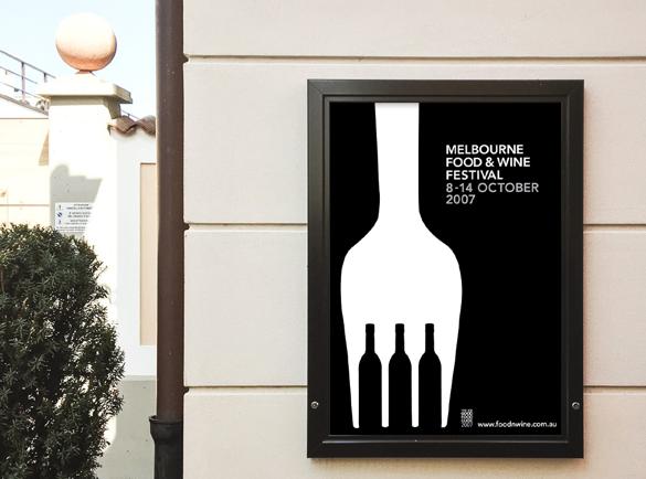 L'illusion du Noir et Blanc | 5 Affiches au Design Détonnant
