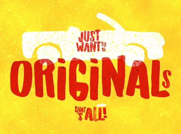 Originals | Les meilleures police pour vos affiches