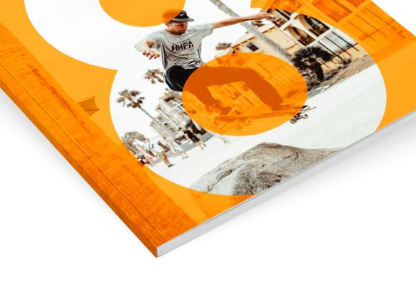 Les reliures pour votre brochure : Explication | Reliure parfaite à dos carré collé