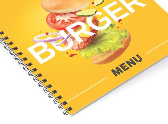 Les reliures pour votre brochure : Explication | Reliure à spirale
