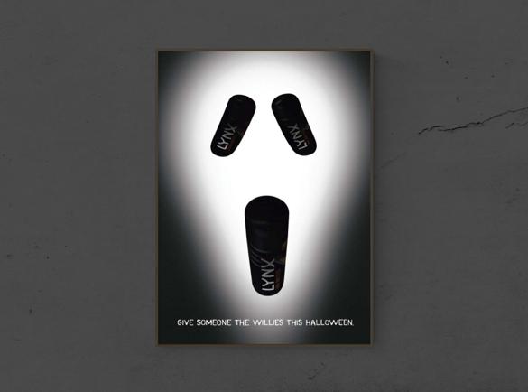 7 Publicités imprimées d'Halloween effrayantes | 1. Boo-hooo