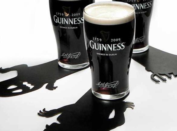 Quelles marques font le plus peur à Halloween ?   Bière Guinness