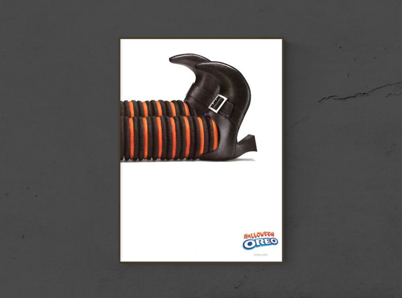 7 Publicités imprimées d'Halloween effrayantes | 2. Pas de piège, juste des bonbons